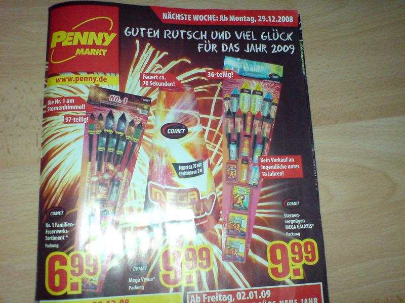 Pennymarkt Prospekt 0809 S3 Feuerwerk Forum