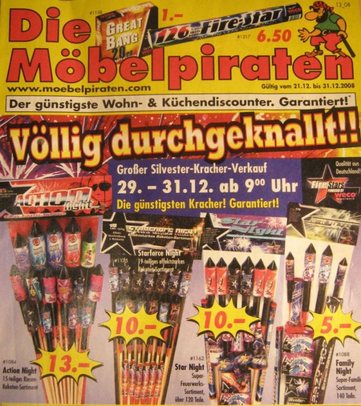Prospekt Möbelpiraten 200809 Seite1 Feuerwerk Forum