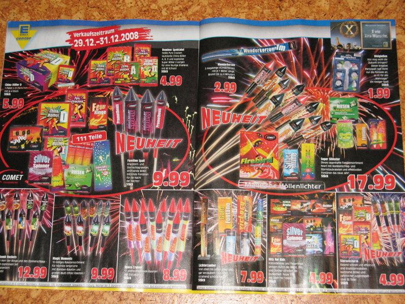 Edeka Feuerwerk