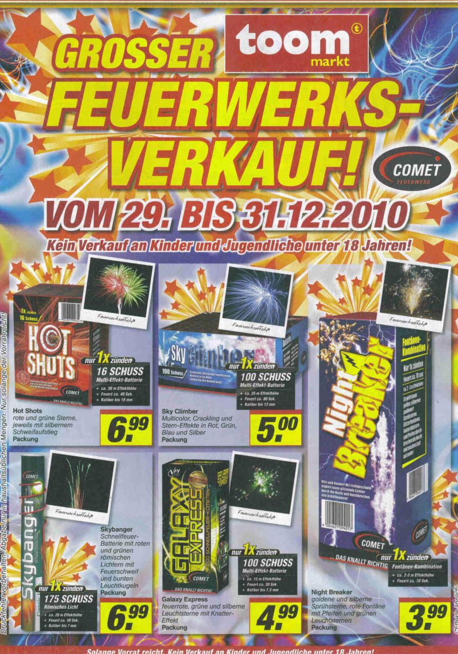 2010] Toom - Markt | FEUERWERK Forum