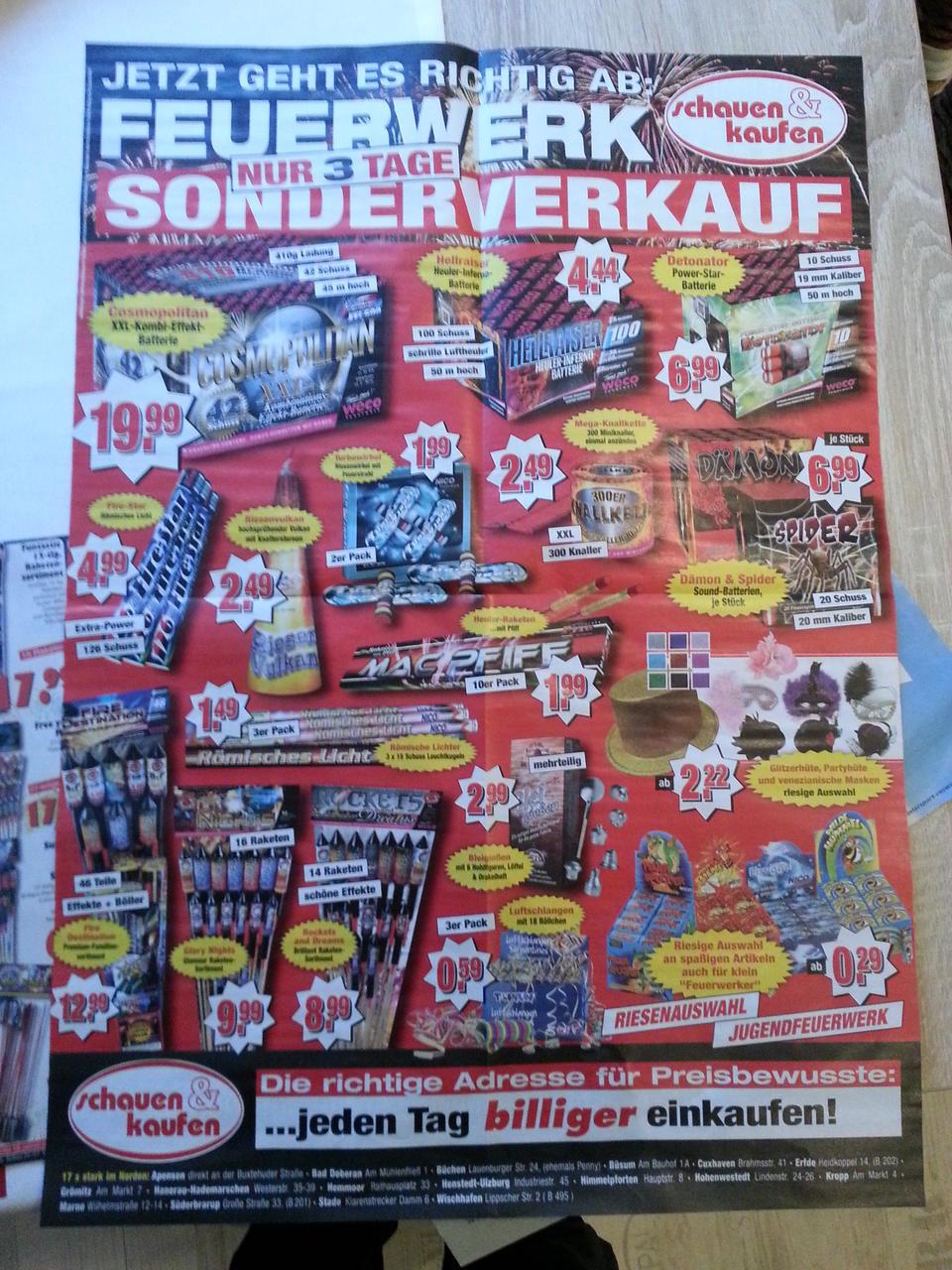 2013 - Schauen und Kaufen | FEUERWERK Forum
