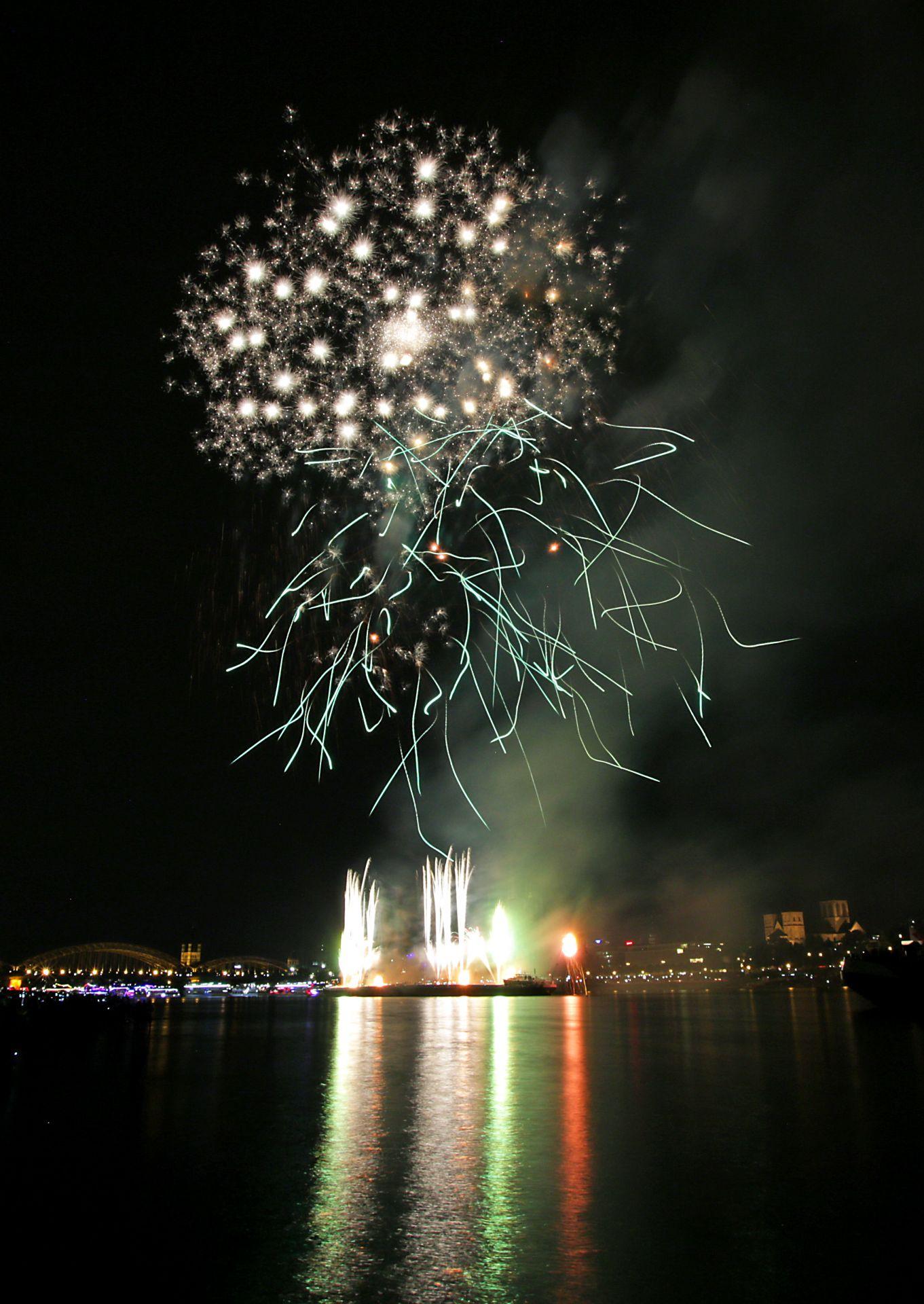 Kölner Lichter 2021 Feuerwerk