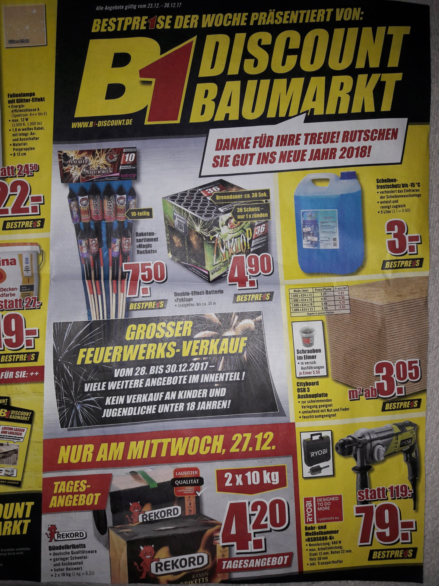 2010 bbm baumarkt feuerwerk forum. Black Bedroom Furniture Sets. Home Design Ideas