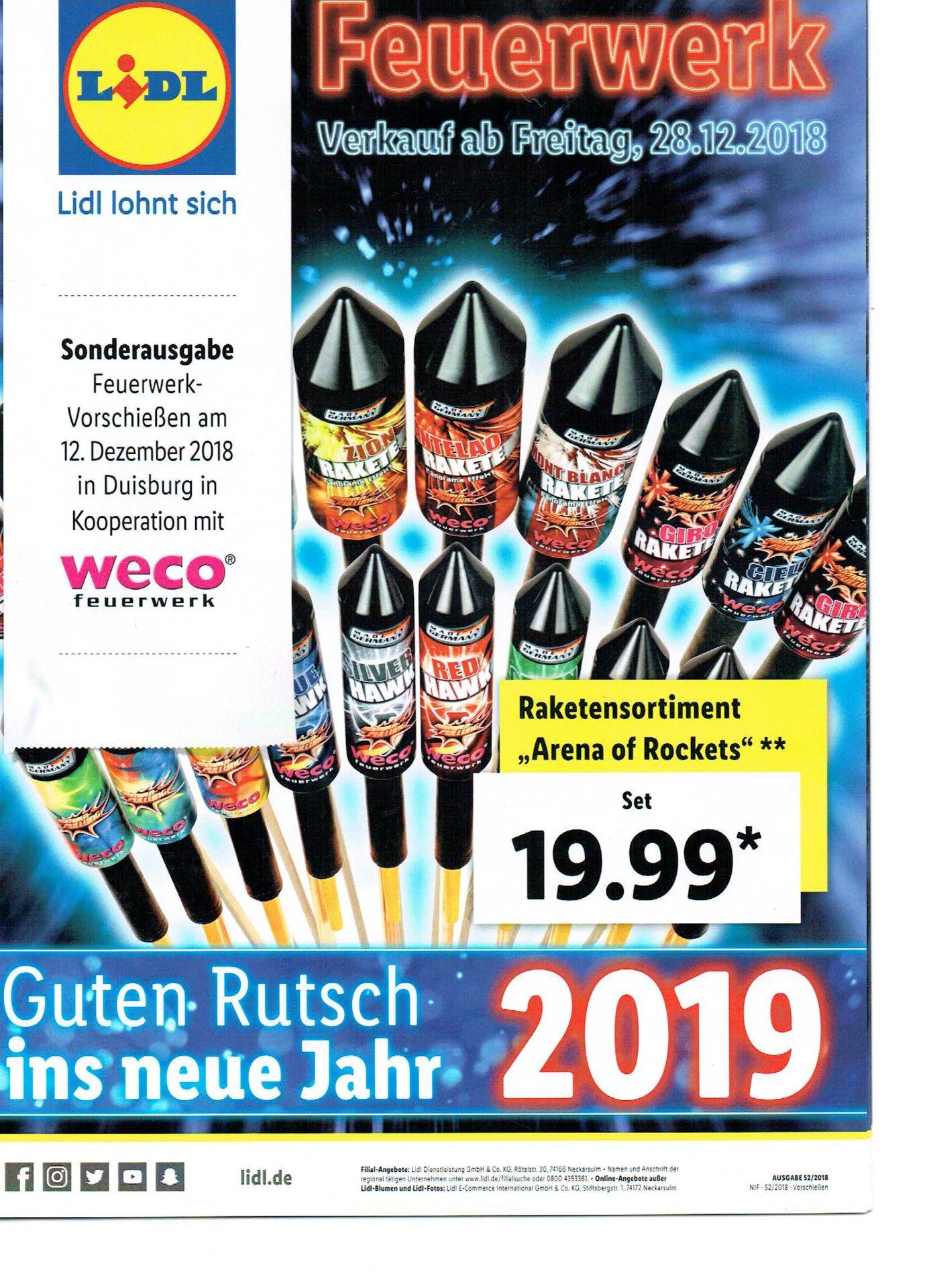 2018 Lidl 2018 Feuerwerk Forum